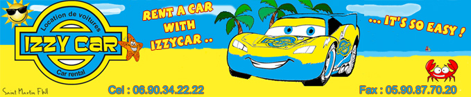 Izzy Car - car for rent, st martin