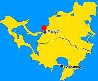 Location of Gallisbay on the map of saint martin