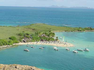Pinel island - saint martin