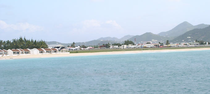 General view of Simpson Bay